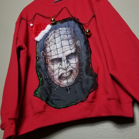 Sweaters - TACKY🎄🎁UGLY CHRISTMAS SWEATER 🎄Hellraiser